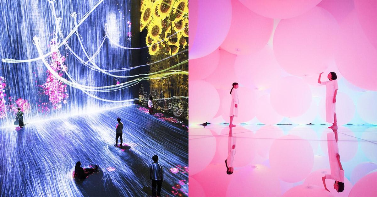 你還不知最新的東京新地標?超夢幻TeamLab美術館讓你炫舞在電光石火裡!