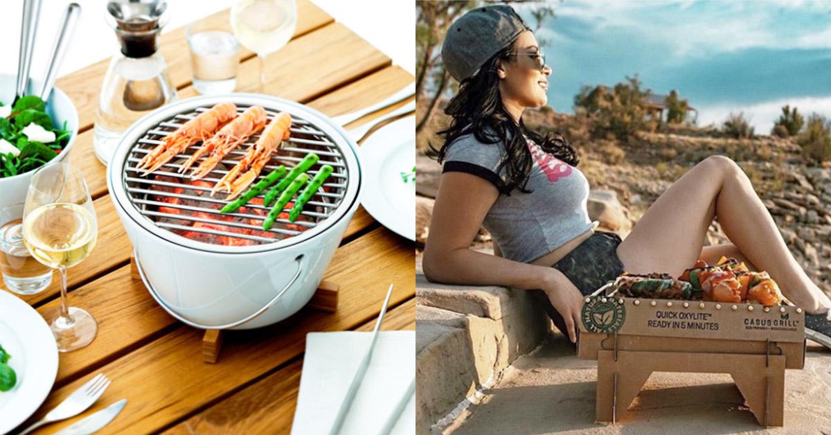 今年中秋你最Skr!誰說烤肉一定很狼狽?這6款超潮烤肉用具讓你時髦又環保