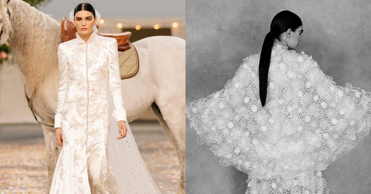 Chanel 2021春夏高級訂製服大秀宛如世紀婚禮!U2 MV導演掌鏡,32套華服美到新境界
