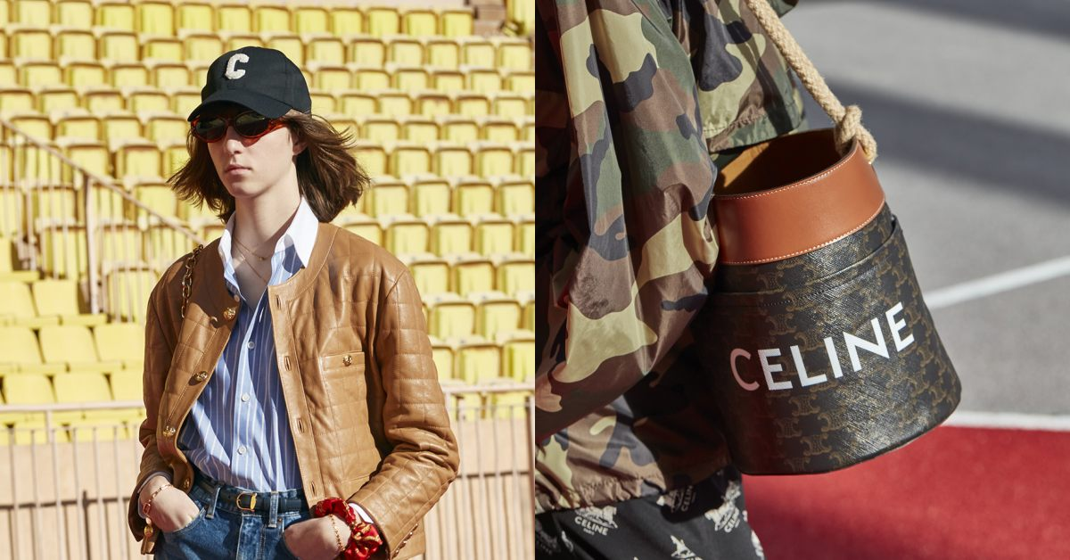 Celine 2021年春夏系列5大重點,要穿出BLACKPINK Lisa風格得先來一頂棒球帽!