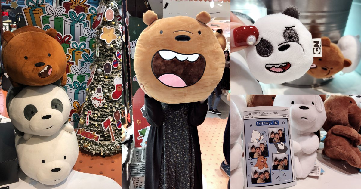 《熊熊遇見你》快閃店超萌登場!超大柔軟抱枕、肥滋滋玩偶,「聖誕周邊」只有這裡買到!