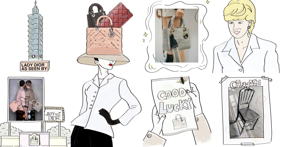 為何「Lady Dior」20年過去依舊是迪奧最暢銷?15個小祕密一次了解它的厲害