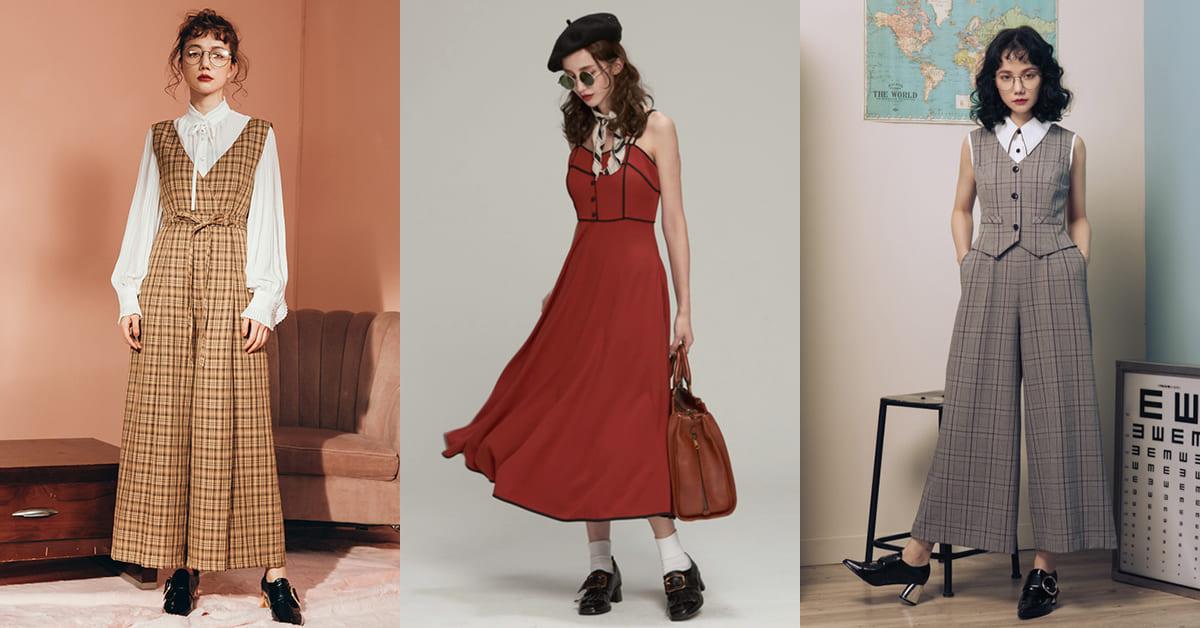 復古穿搭當道!這4間台灣設計網拍把媽媽年代單品變時尚