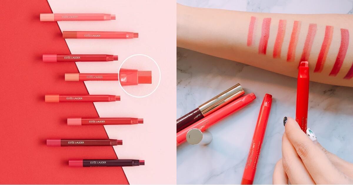 「這個顏色」韓國上市3天就完售,被譽為「發電美唇筆」的雅詩蘭黛玩色戀愛雙色唇膏終於來台了!