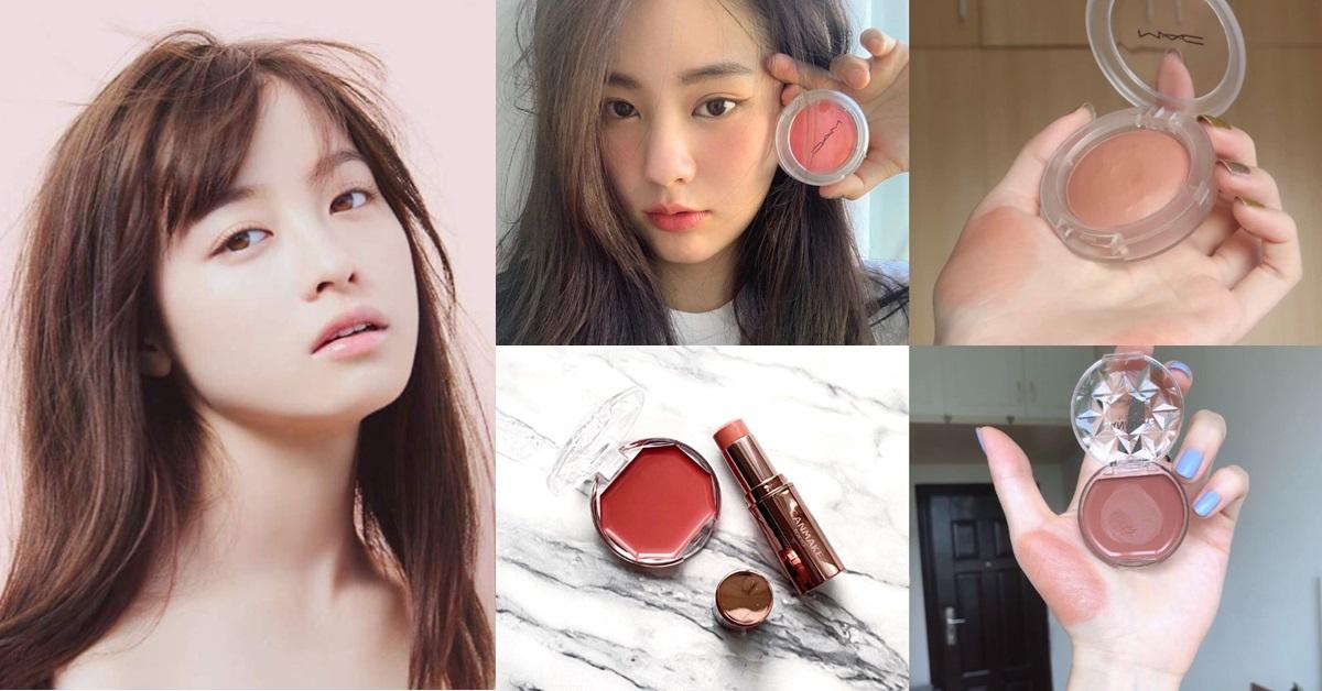2020網友熱議5款霜狀腮紅推薦!30+女生最愛的自然好氣色全靠這一顆,輕拍兩三下就能快速完妝!