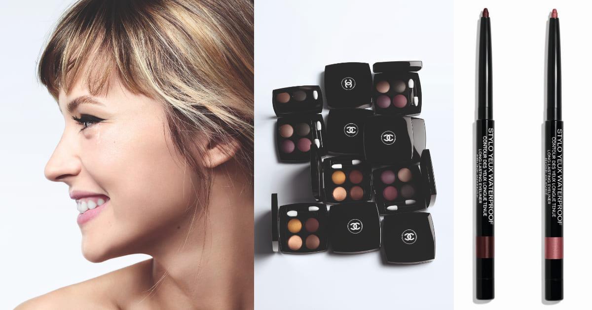 視訊妝容Chanel教你眼妝怎麼畫!2大訣竅打造「無辜妝」,選對眼線好感度直逼200%