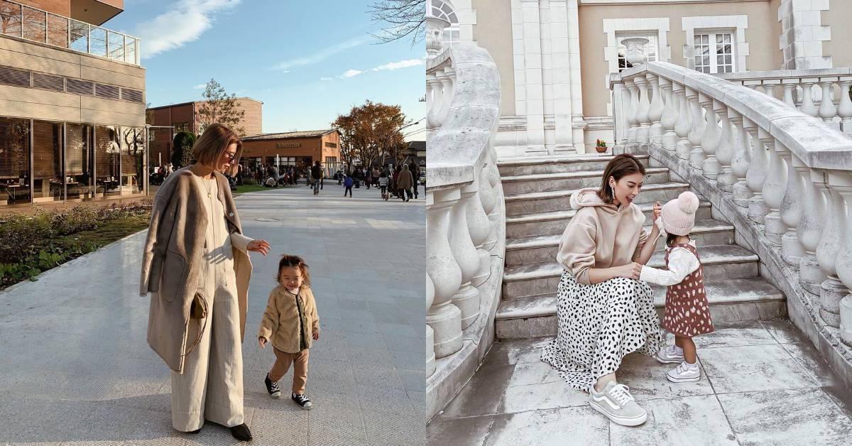 親子穿搭除了同款式,更可以同色系!初學者建議從鞋子入門