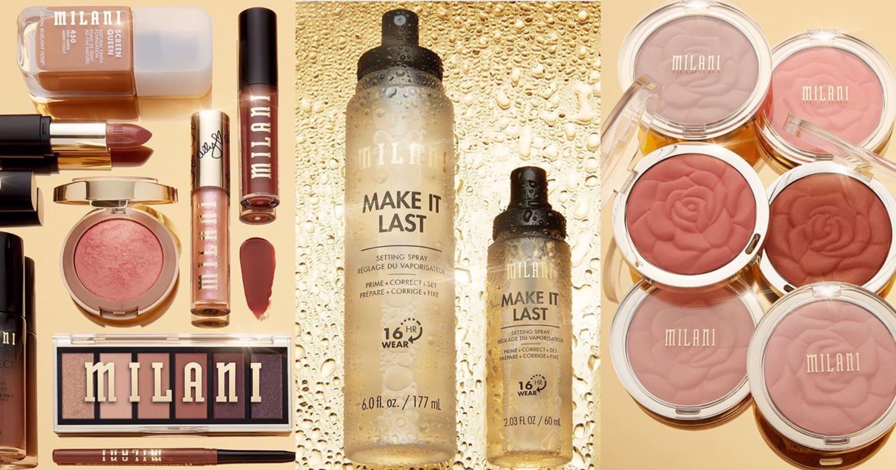 美國當紅中價彩妝品牌Milani正式登台,網友激推平價版M.A.C必買Top 5,公認CP值資優生