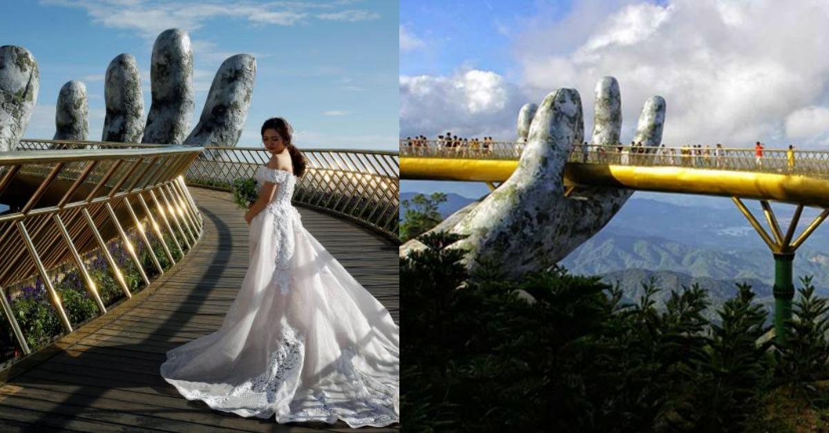 「巨手托橋」天空步道爆紅!去越南一定要去斥資20億美元的神之手朝聖