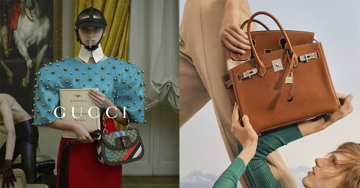 2021全球最有價值品牌Top 5,Gucci、LV百億身價獨霸冠亞軍,Hermès柏金包最保值!