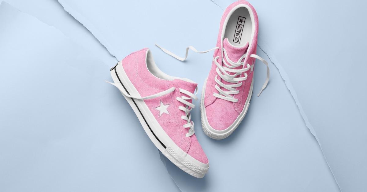 春嫩色報到!Converse One Star Premium Suede 用粉色色彩高唱拒絕受束的態度