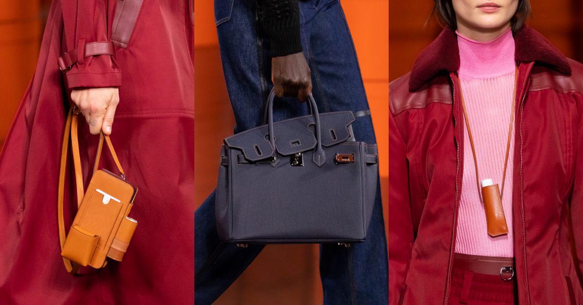 Hermès 2021秋冬大秀包包太精采!手機包、口紅掛包到變身的柏金包,下半年荷包準備失血