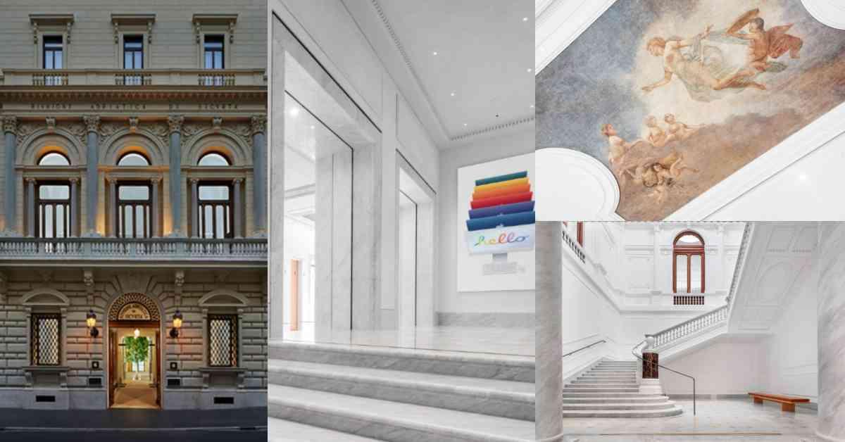 Apple Store門市第一美在羅馬!19世紀宮殿販賣蘋果最新3C ,買手機順便欣賞藝術品