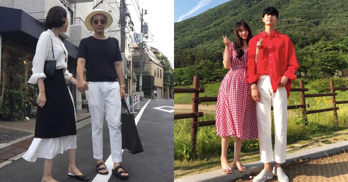 這樣放閃才不討人厭!誰說曬恩愛要穿一樣,學會這5種韓國情侶的穿搭時髦又甜蜜