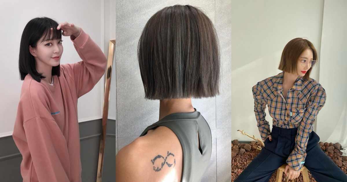 別再抗拒剪短髮!4種「無層次短髮」造型推薦,小臉效果太強大!