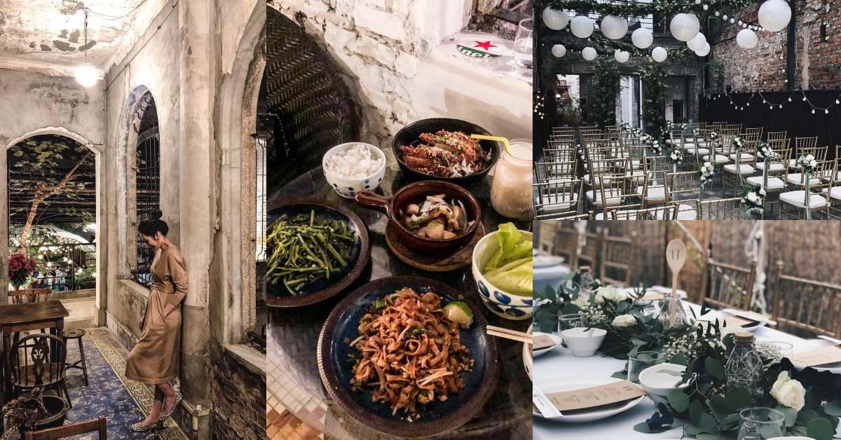 士林美食推薦「食尚曼谷」!天井、鐵窗花,百年老宅不只可辦婚禮,也賣時髦泰式料理!