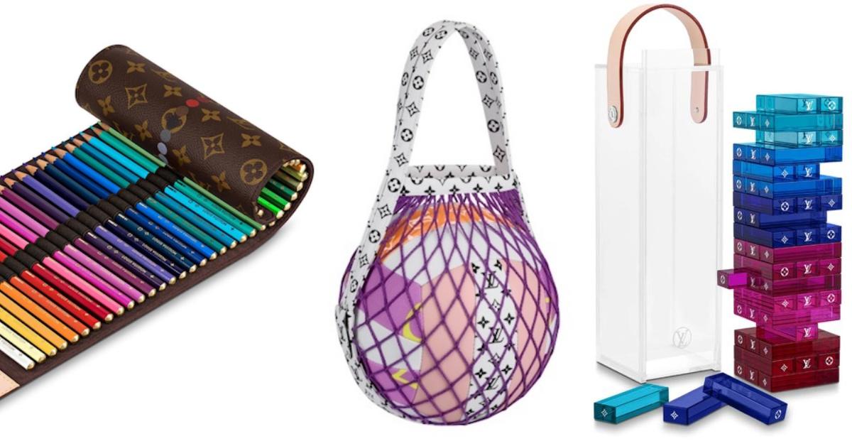 LV周邊太狂了!疊疊樂、排球、色鉛筆、撲克牌8樣商品送禮超有面子