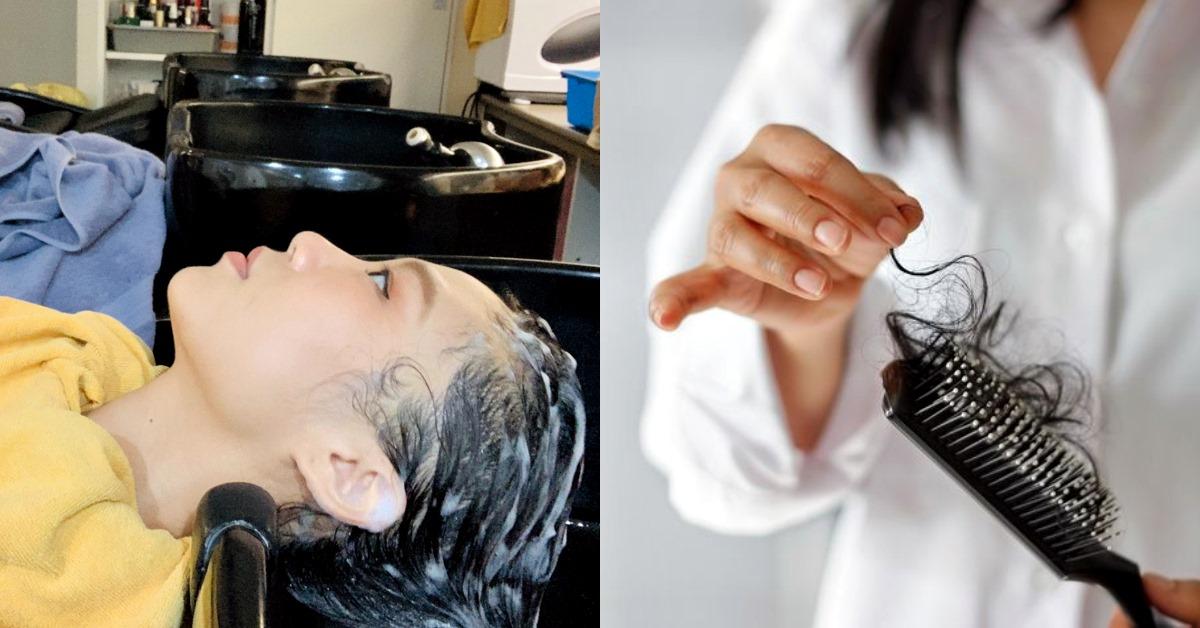 【洗頭時間】行天宮捷運站Hair Box!20年經驗造型師教你自己檢測頭皮,X色代表累積陳年油垢