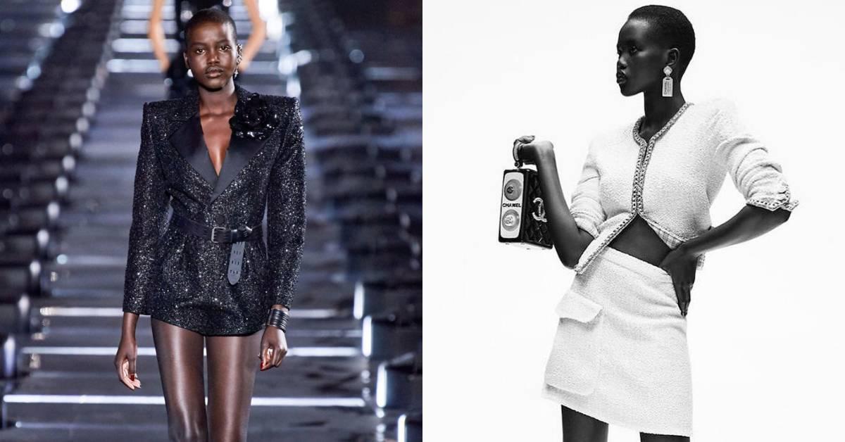 從難民變年度模特兒!來自非洲的Adut Akech:「我代表黑人女孩和難民,以及從零開始的人」