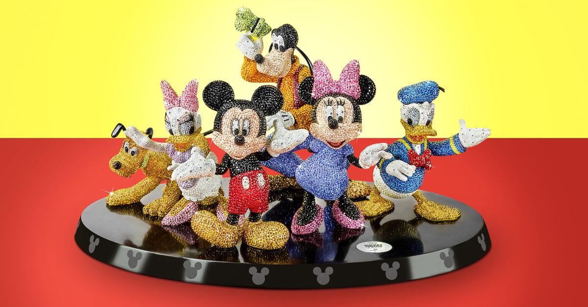 迪士尼控必收!與施華洛世奇打造一系列經典角色水晶擺飾!歡慶迪士尼卡通人物90週年!