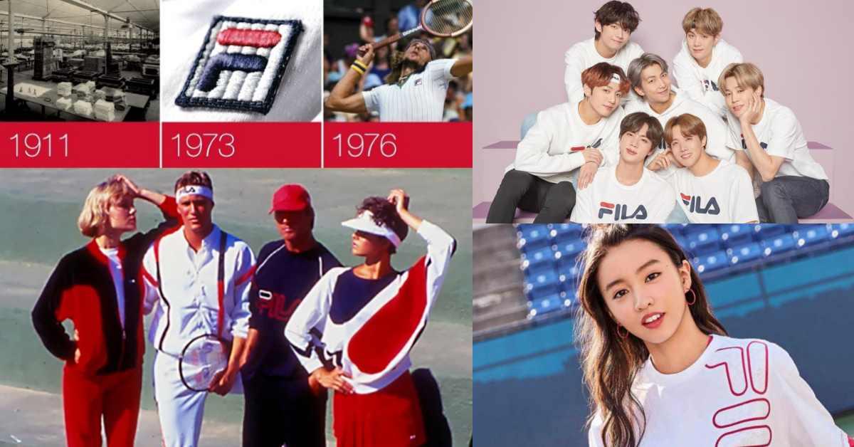 【百年俱樂部】BTS代言、木村光希愛牌!Fila原來也經歷低潮期,靠Karl Lagerfeld神助攻華麗翻身