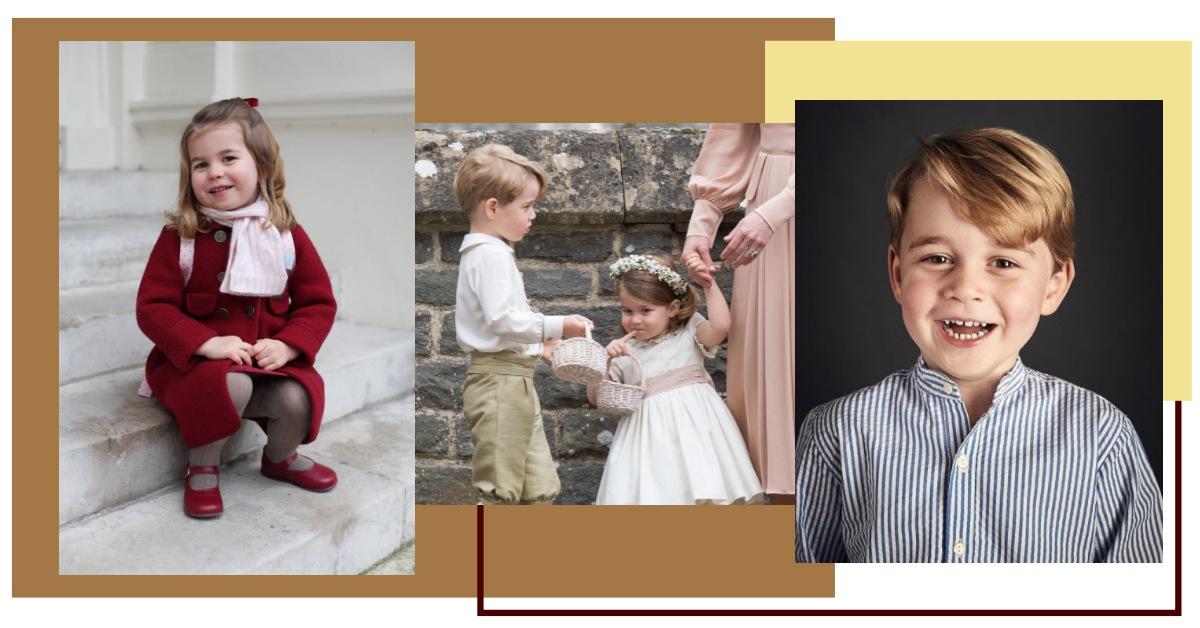英國皇室寶寶療癒百分百!搜羅喬治小王子、夏綠蒂小公主的超Q特輯