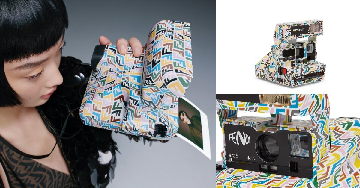 Fendi水桶包沒有這個夯!拍立得相機套上FF老花圖紋,限量推出比登天還難搶!
