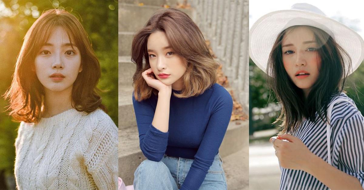 2019燙髮範例推薦!5款韓妞最愛中長髮型,圓臉、方臉、長臉都能駕馭