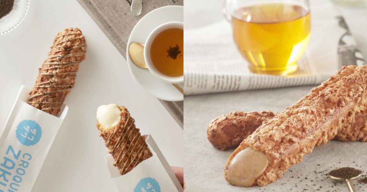 高人氣棒棒泡芙《ZAKUZAKU》再推「伯爵茶」口味!兩款新口味販售資訊整理