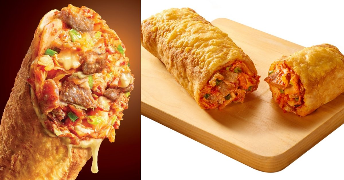 《必勝客》推出上班族必吃「韓式泡菜燒肉起司捲」!每一口咬下都是超療癒爆量餡料