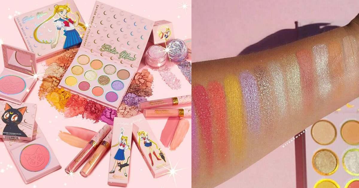 這波聯名值得買!美少女戰士 X Colourpop 推出超閃亮彩妝,眼影、腮紅、唇彩顏色美到不行!