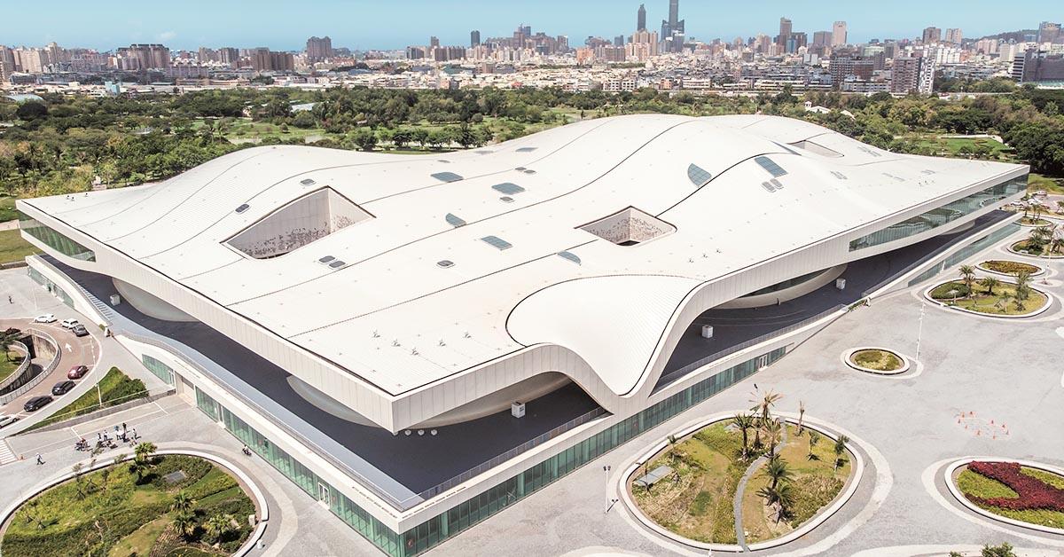 建築圈聖經Wallpaper評選得名!衛武營國家藝術中心成下一座台灣之光