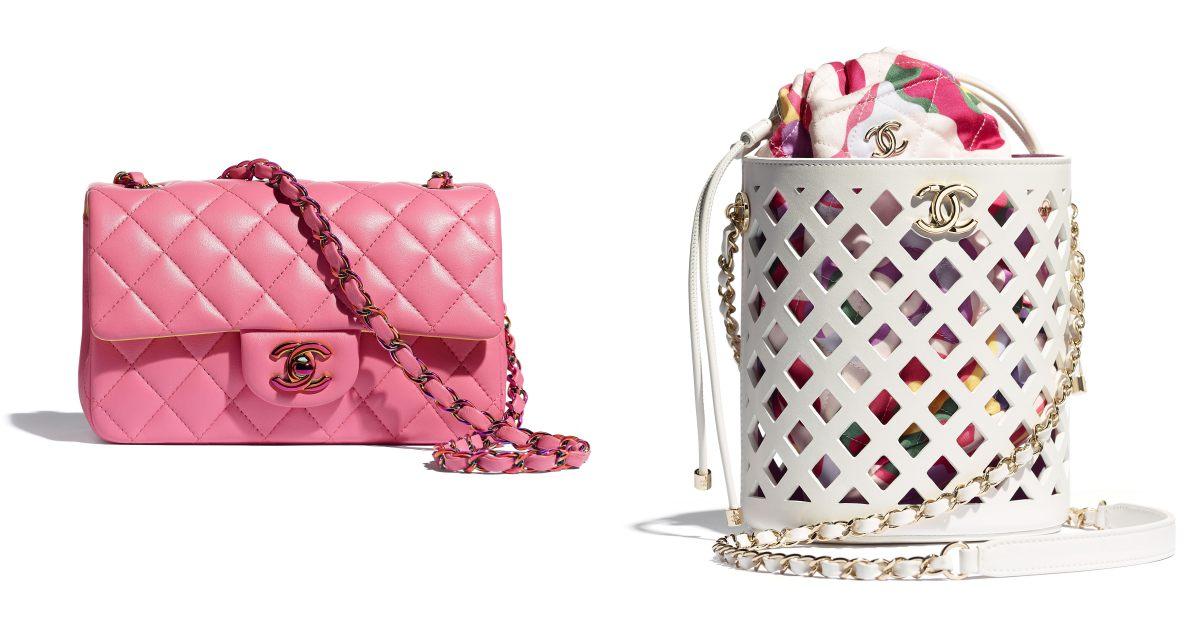 2021 Chanel春夏包包推薦這10款! 11.12、19 到眼鏡包都套上粉色外衣,準備預支年終獎金啦!
