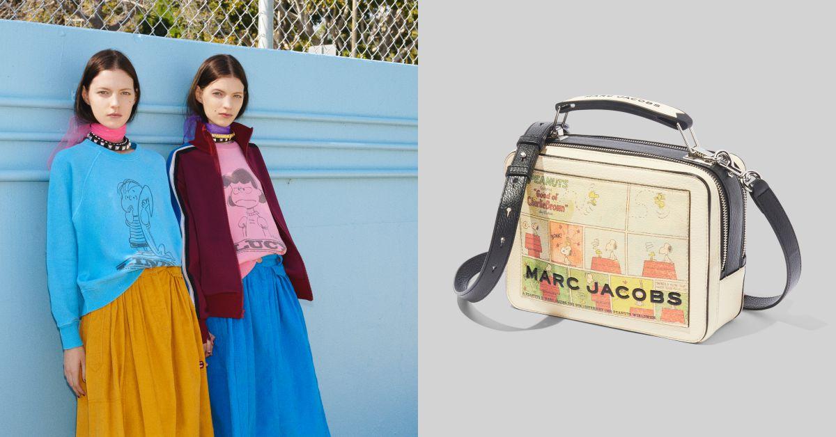 Marc Jacobs平價版現身!首波商品跟史努比聯名實在太可愛!