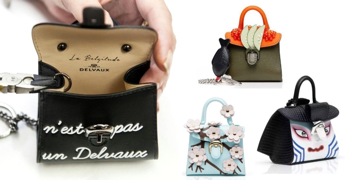 「比利時愛馬仕」Delvaux推出日本限定款!歌舞伎、鮭魚壽司迷你包,原裝空運抵台超欠買!