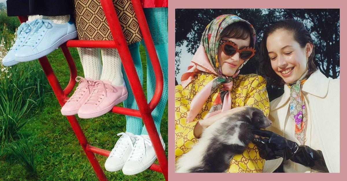 Gucci賣到翻「Ace運動鞋」粉嫩再進化!夾腳涼鞋、方頭拖鞋...擠進2020年品牌暢銷榜