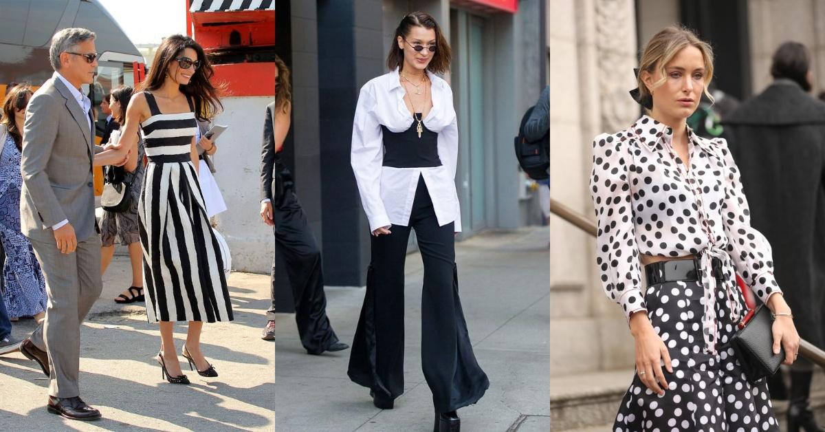 黑白穿搭是永不敗的經典法則?2020黑白挑選重點在「紋樣變化」,Get 4大重點穿出時髦新高度