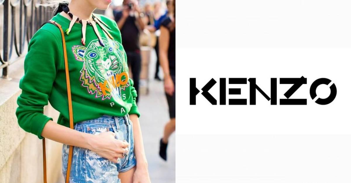 用一件虎頭上衣稱霸時尚圈的Kenzo,新任創意總監接手後推出全新Logo!
