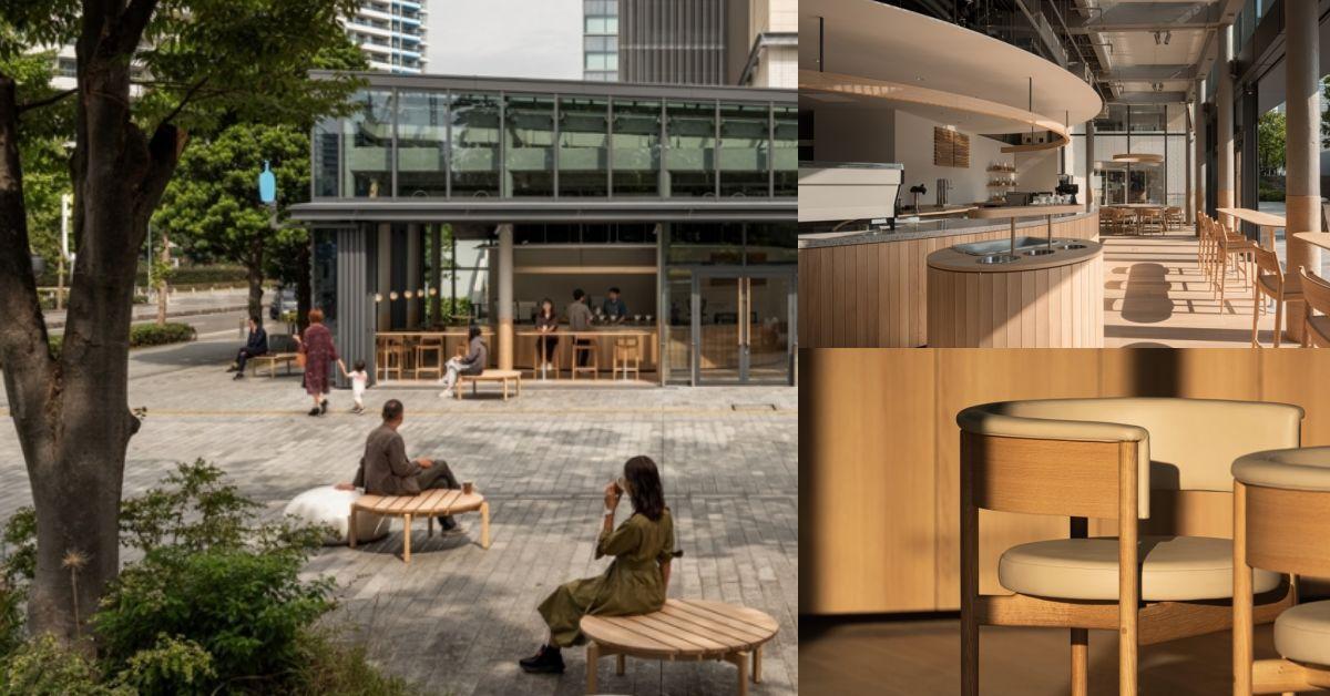 Blue Bottle藍瓶咖啡賣起傢俱!橫濱首店變身「傢俱展示廳」想帶回家也OK!
