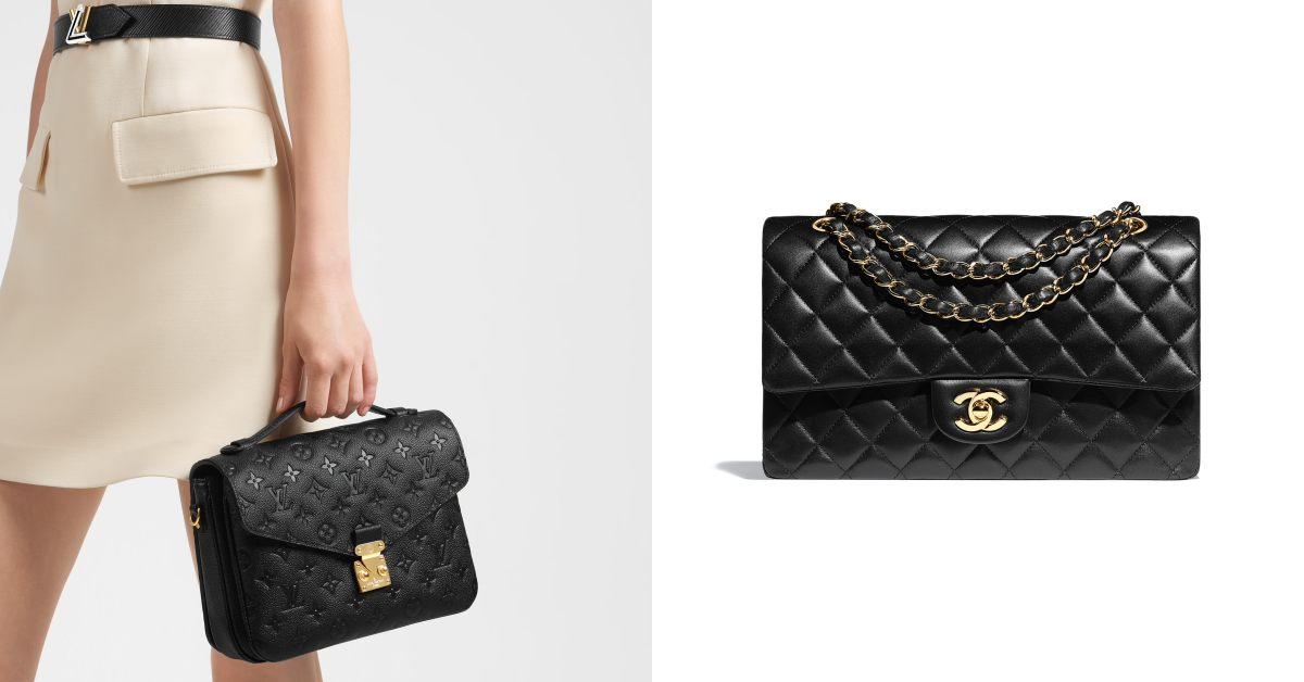 金釦包推薦Top 10 !Dior、LV、Celine、Fendi...第一款精品包怎麼買?關鍵是「黑包配金釦」
