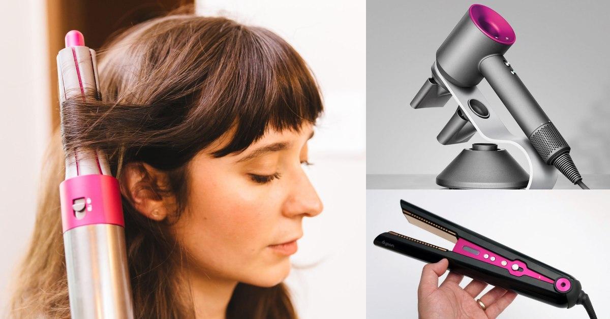盤點3大熱門Dyson護髮神器!最新「直髮造型器」超狂多功能,網友全買單:荷包又要空了