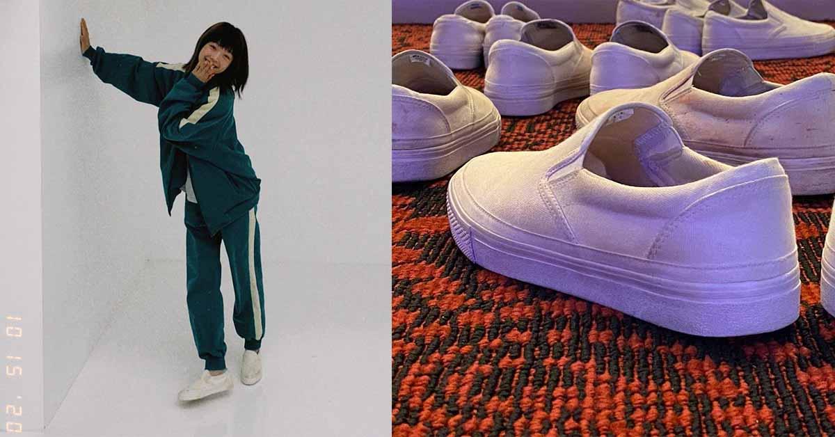 Netflix《魷魚遊戲》「小白鞋」爆紅!6款網搜類似款,Nike、MUJI、Vans...「這款」凱特王妃也愛不釋手!
