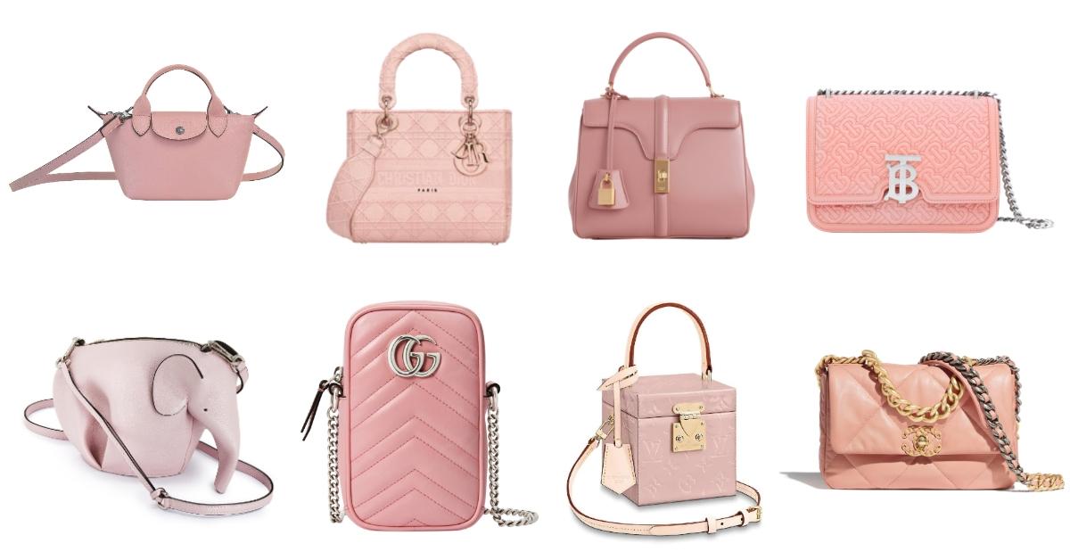 2020粉紅包很「古董」!Chanel、LV、Dior、Gucci...10款話題包,讓你年輕用到老