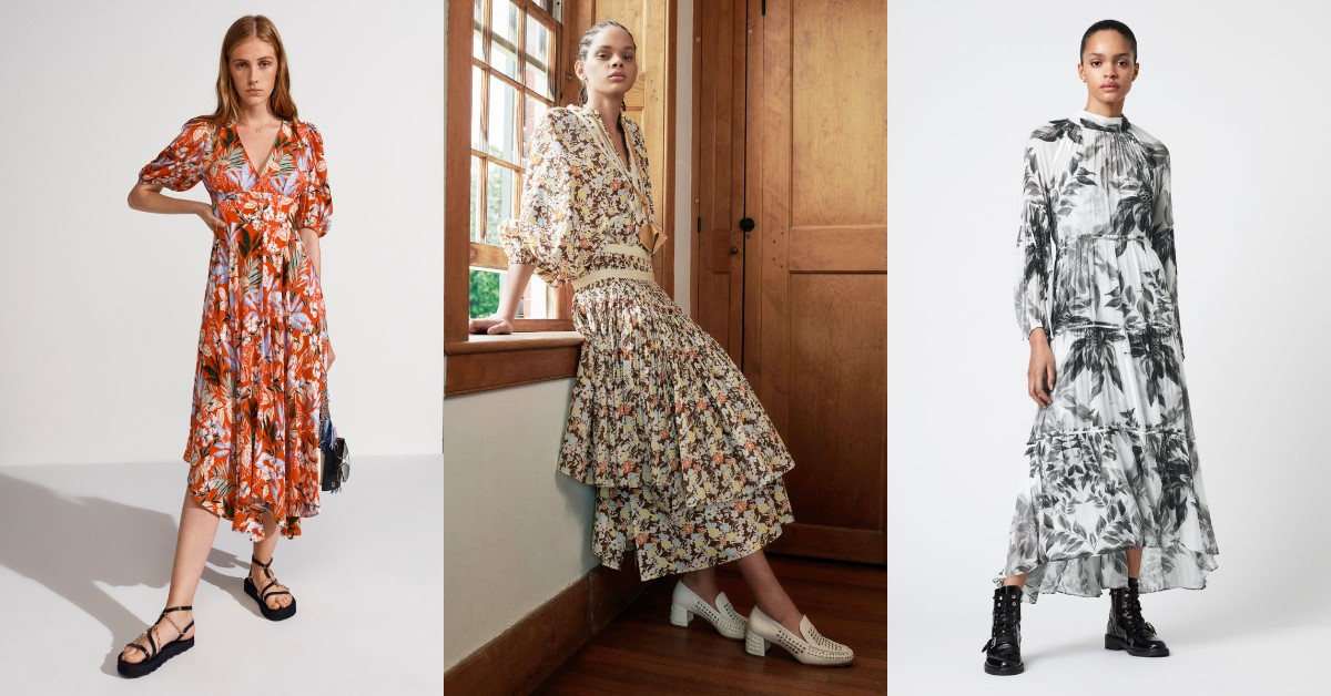 碎花洋裝穿搭推薦這6款!Gucci、Valentino、Tory Burch...AllSaints這一件每季都賣翻