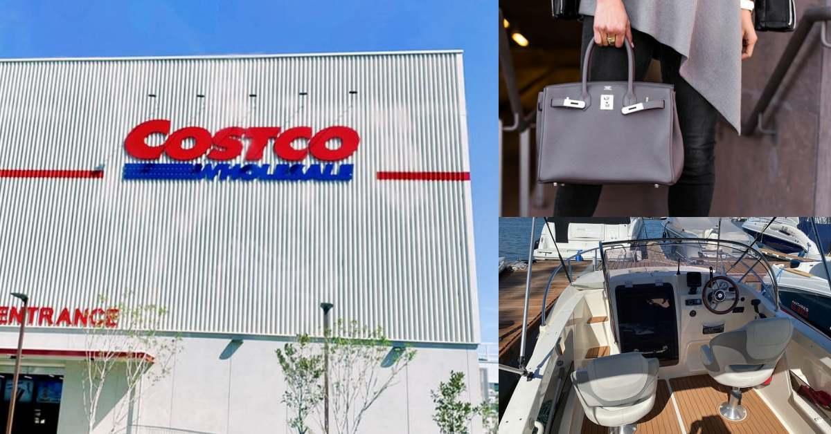 Costco台中開幕!不只愛馬仕凱莉包,連豪華遊艇也賣!5款土豪限定「獨賣商品」搶先看!