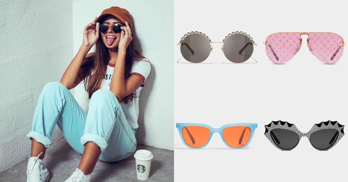 2021太陽眼鏡推薦Top 8!Gucci、Loewe、LV...Dior銀色全罩式鏡面拿來防疫搭配最時尚