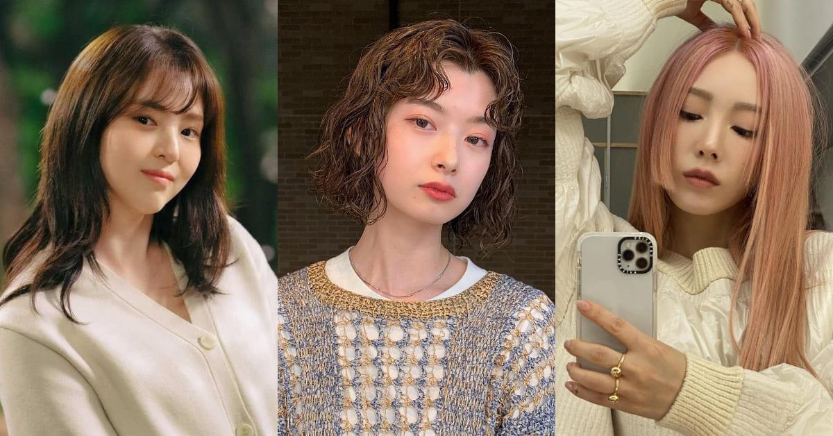 2021秋冬瀏海趨勢Top5!中分瀏海、齊瀏海怎麼挑選?「這個髮型」最能修飾達到小臉效果