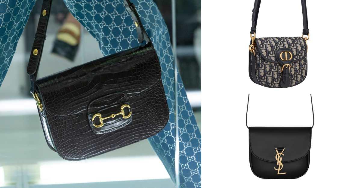 2020包包它最搶手?Dior、YSL到Gucci三大品牌搶推「馬鞍包」,背後藏的故事怎能不知道?