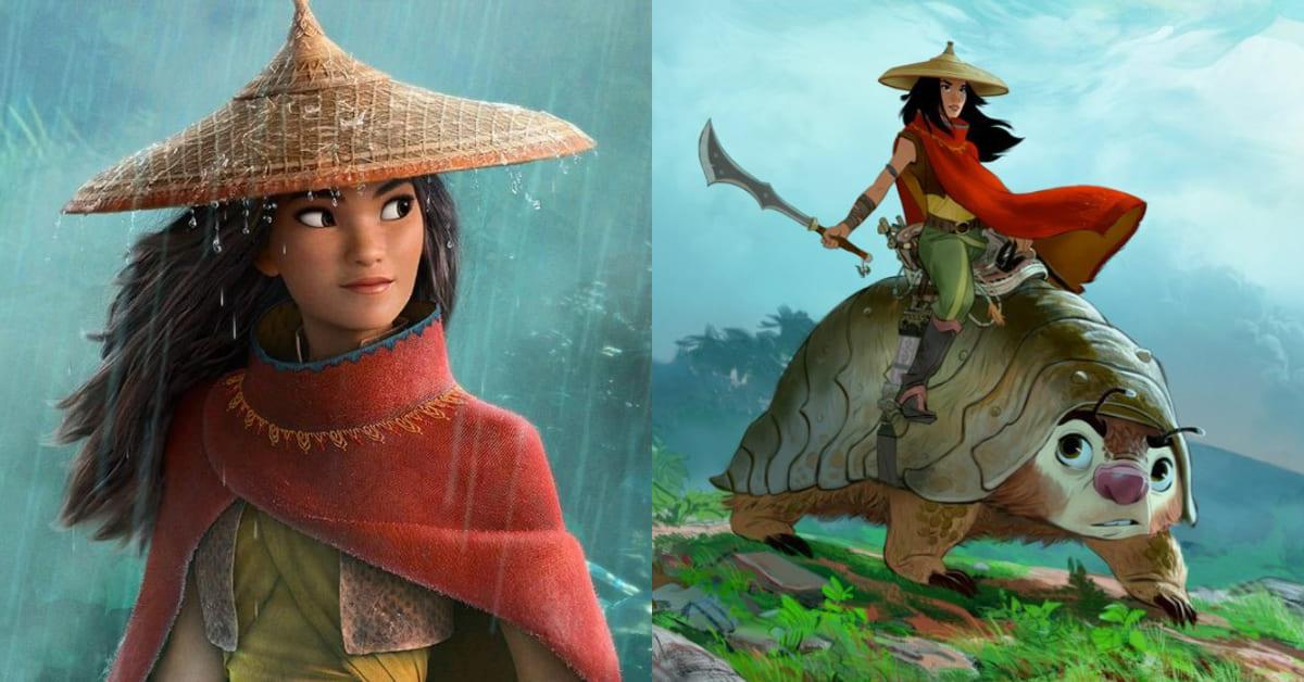 《靈魂急轉彎》後動畫新作!迪士尼全新動畫《尋龍使者:拉雅》,繼《花木蘭》又一位亞洲女英雄