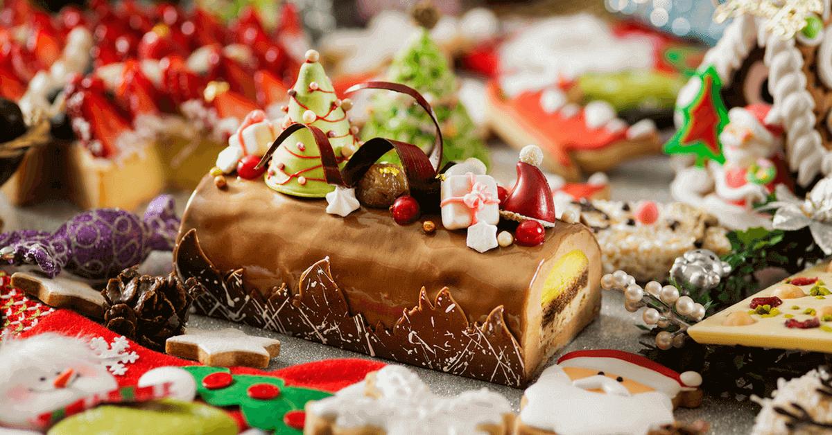 遠東香格里拉推「奇幻聖誕」下午茶與豐富造型甜點 照片有聖誕元素打卡上傳,抽市值近20k豪華客房一晚!